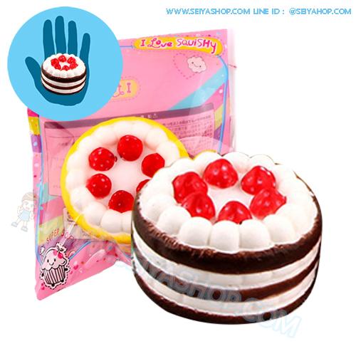 CB666 สกุชี่ Mini Cake By SanQi Elan (super soft) ขนาด 7 cm ลิขสิทธิ์แท้