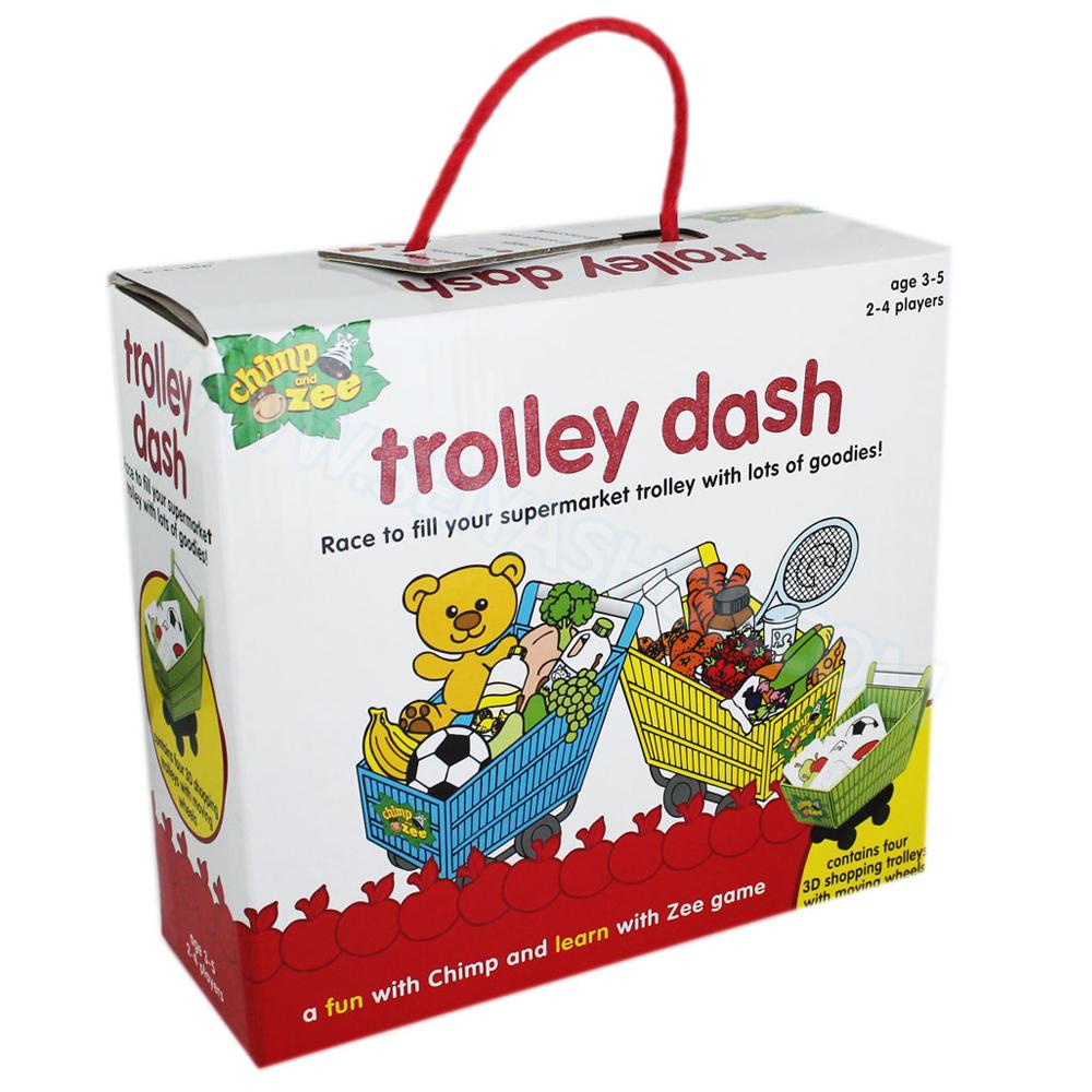 BO100 เกมส์บอร์ด เสริมพัฒนาการ trolley dash เสริม EQ และ IQ