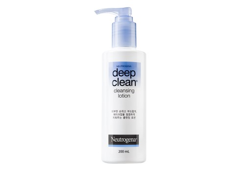 Neutrogena Deep Clean Cleansing lotion 200ml.