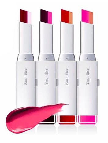 Soul Skin Lipstick Bar ลิป 2 โทนในแท่งเดียว เทรนด์ใหม่ล่าสุดจากเกาหลี ขายดีหนักมว๊าก