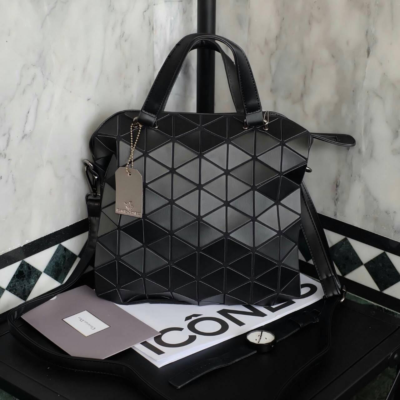 กระเป๋า David Jones Classic Tote Bag - Matte black ราคา 1,690 Free ems