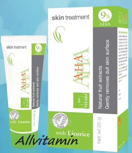 Vitara AHA 9% Cream 25 g