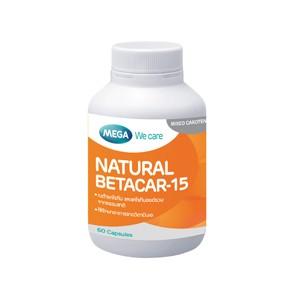 Mega We Care Betacar-15 60 เม็ด