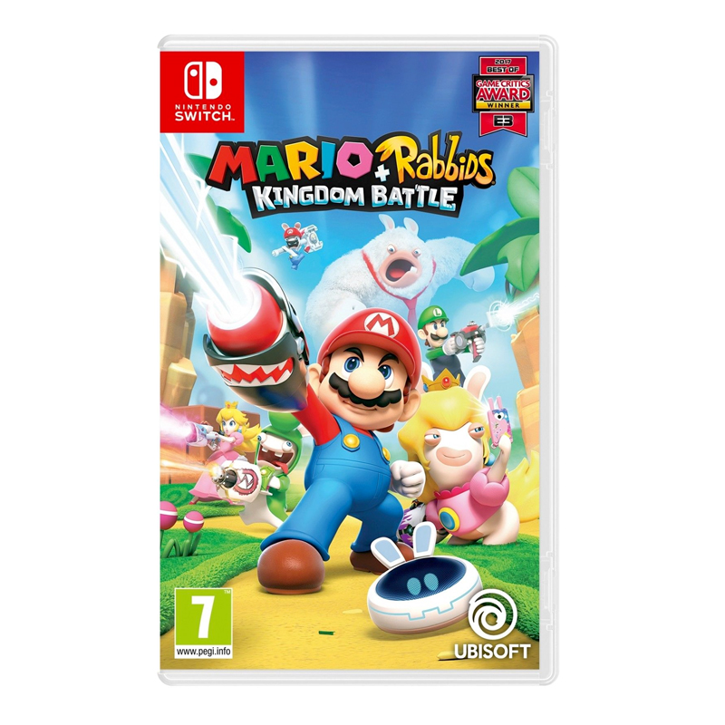 Nintendo Switch Mario + Rabbids: Kingdom Battle Zone EU / English