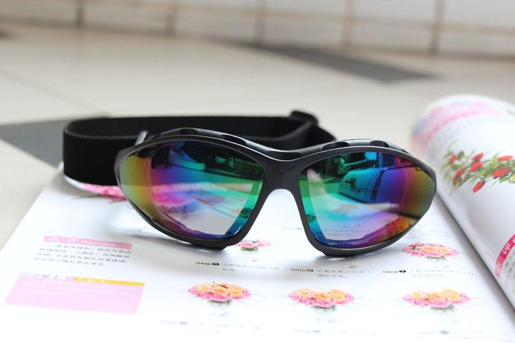 แว่นตาขี่มอเตอร์ไซค์ ปรอท มีสายรัดหัว