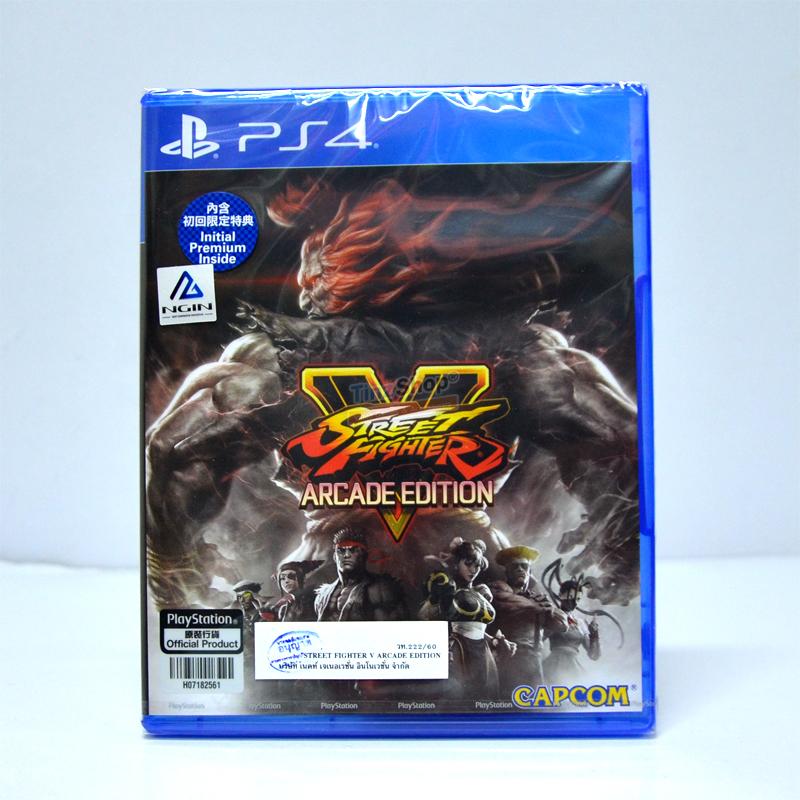 PS4™ Street Fighter V: Arcade Edition Zone 3 Asia / English ราคา 1490.-