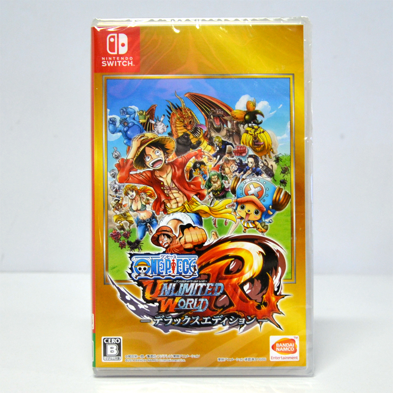 Nintendo Switch™ One Piece : Unlimited World R Deluxe Edition Zone Japan *เปลี่ยนภาษาเป็นeng ได้** 22-09-2017