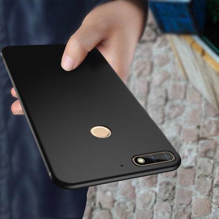 (พรีออเดอร์) เคส Huawei/Y7 Pro 2018-เคส TPU นิ่มสีเรียบ