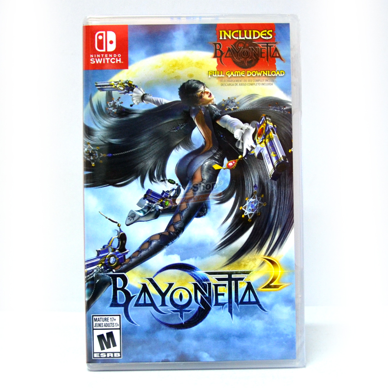 Nintendo Switch™ Bayonetta 1+2 Zone US / English ราคา 2150.- update 28/06/2018