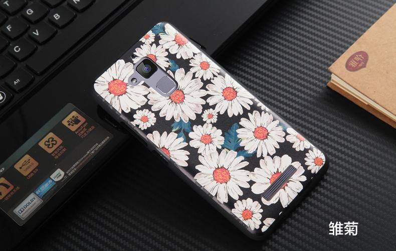 """เคส asus zenfone 3 Max 5.2"""" zc520tl TPU ลาย 3D Flower"""