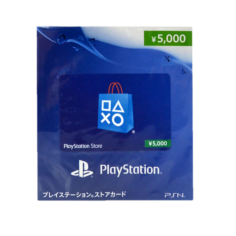บัตรเติมเงิน PSN (JP) 5000 เยน