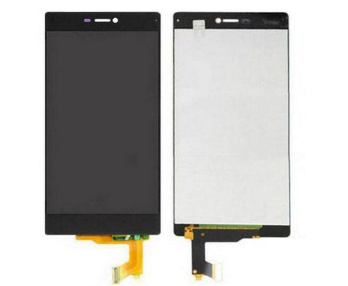 ราคาหน้าจอชุด+ทัชสกรีน Huawei P8 สีดำ แถมฟรีไขควง ชุดแกะเครื่อง อย่างดี