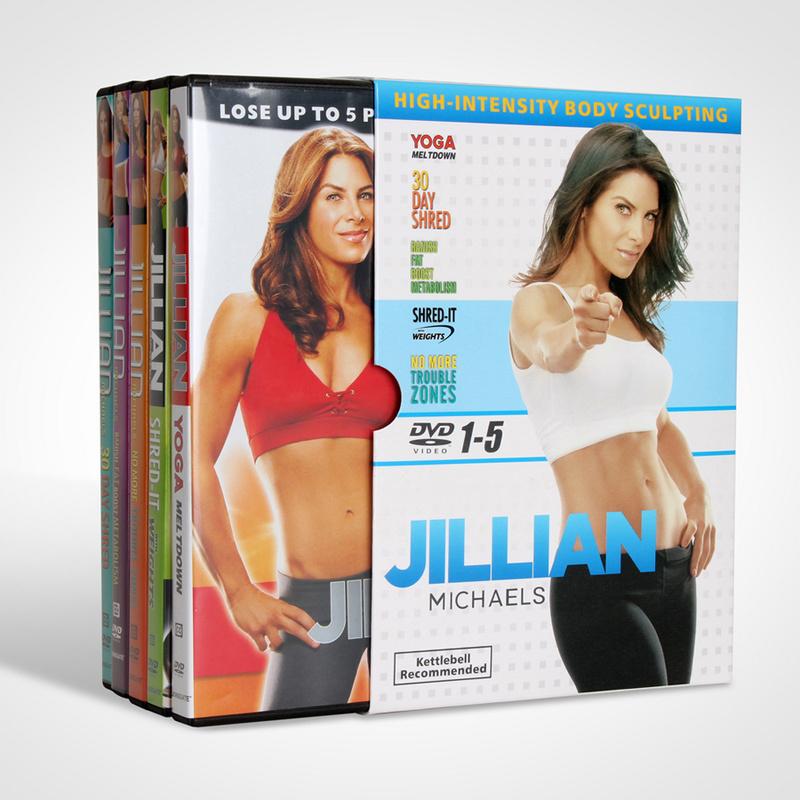 Jillian Michaels 5-Disc DVD Box Set