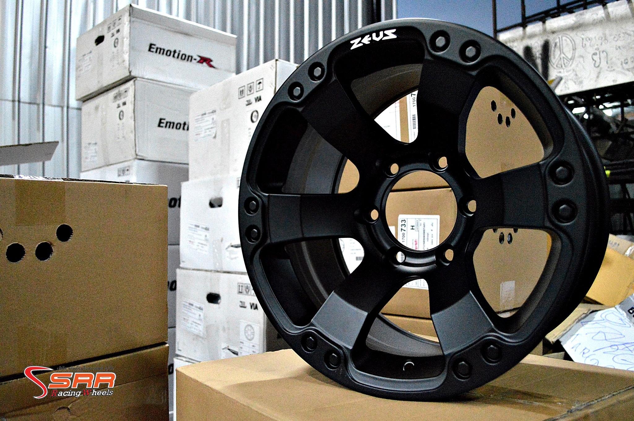 ล้อแม็ก ZEUS-12 16X8.5 นิ้ว ET +0 PCD 6X139.7