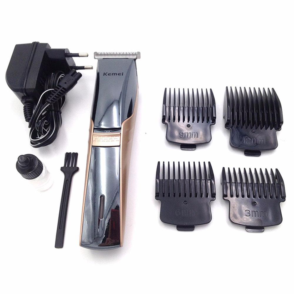 [KEMEI] ปัตตาเลี่ยนไฟฟ้าแบบกันน้ำ แบตเตอร์เลี่ยนชนิดล้างน้ำได้ แบตตาเลี่ยนไร้สาย แบตเตอเลี่ยนตัดผม Whole Body Washable Electric Hair Clipper For Men & Women