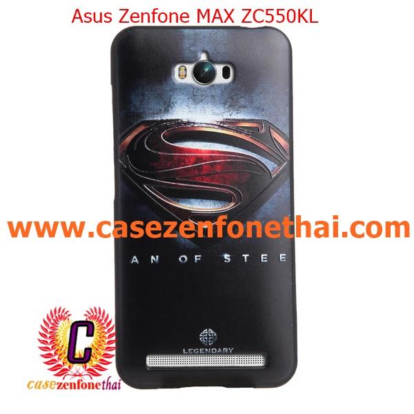 เคส asus zenfone max zc550kl TPU พิมพ์ลาย 3D SUPERMAN