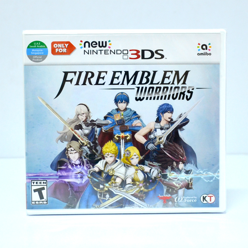 3DS™ Fire Emblem Warriors Zone US, English ราคา 1490.- // ส่งฟรี