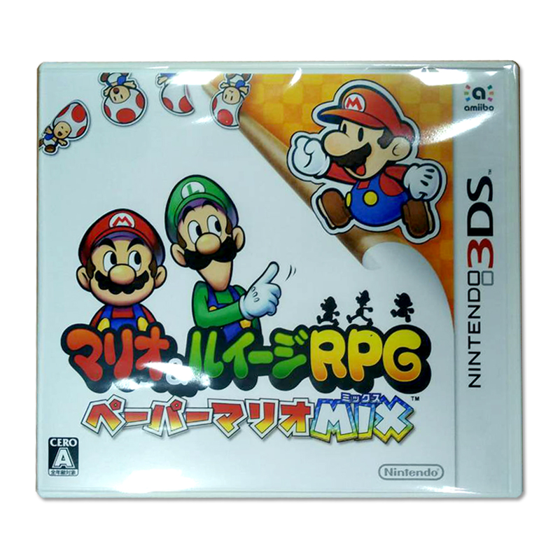 3DS (JP) Mario & Luigi RPG Paper Mario Mix Zone JP / Japanese @ 1390.-