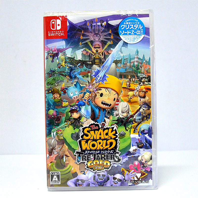 Nintendo Switch™ The Snack World: Trejarers Gold Zone 2 JP / Japanese ราคา 1890.-