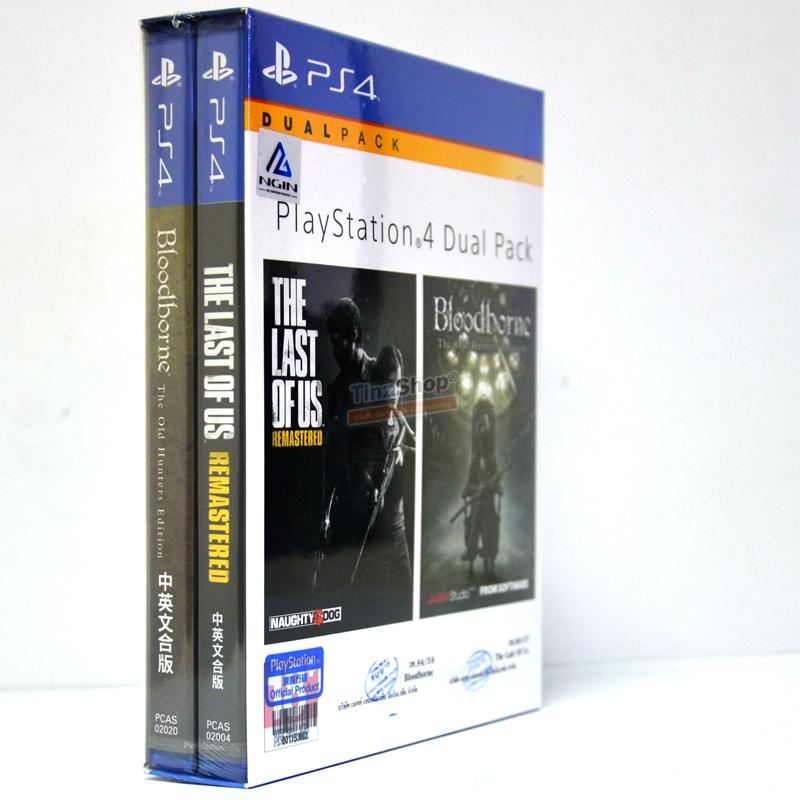 Dual Masterpiece Pack เกมดีที่คุณควรเล่น #TheLastOfUs #BloodBorne 1690.- ส่งฟรี