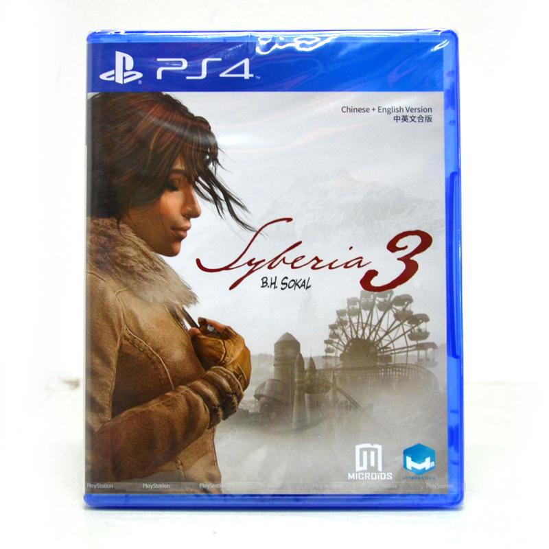 PS4™ Syberia 3 Zone 3 Asia / English ราคา 1290.-