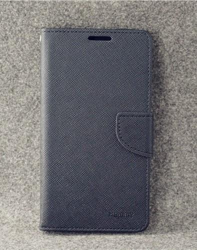 เคส asus zenfone 3 max 5.2 zc520tl ฝาพับ ฝาปิด mercury fancy diary case สีดำ