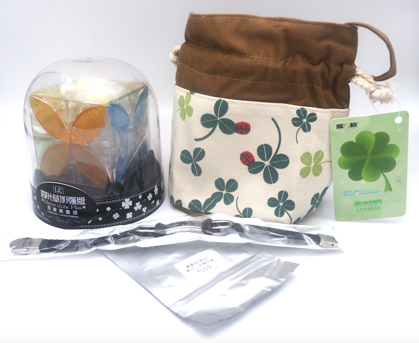 QiYi Clover Cube Plus Limited Edition