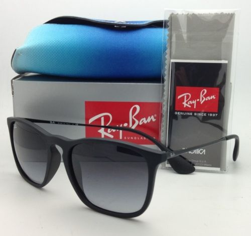 Ray Ban Chris RB4187F 622/8G Black Frame/Gray Gradient Lens