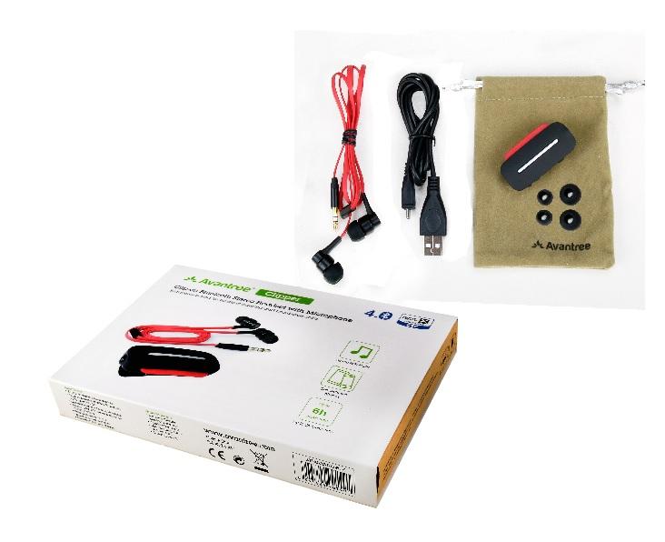 Avantree Bluetooth Stereo Headset - Clipper