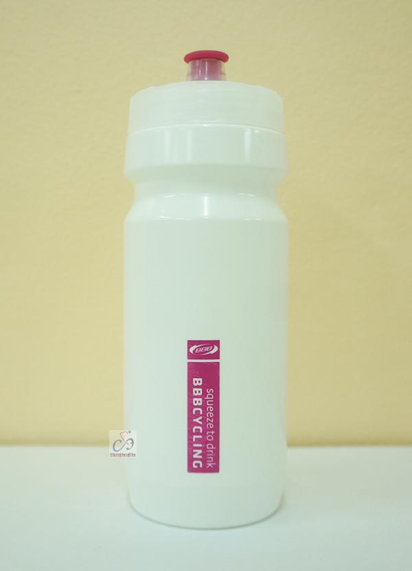 กระติกน้ำBBB สีขาว-ชมพู 550ml