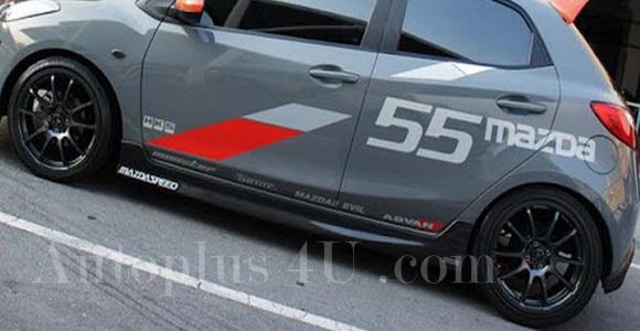 ชุดแต่ง Mazda 2 Evil 5D