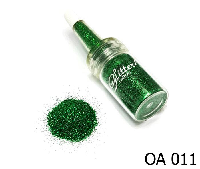 สี เขียวเข้มประกายไดมอนด์