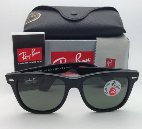 Ray Ban Wayfarer RB2140 901/58 Polarized