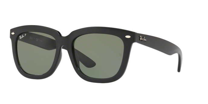 Ray Ban RB4262D 601/9A BLACK Polarized Green