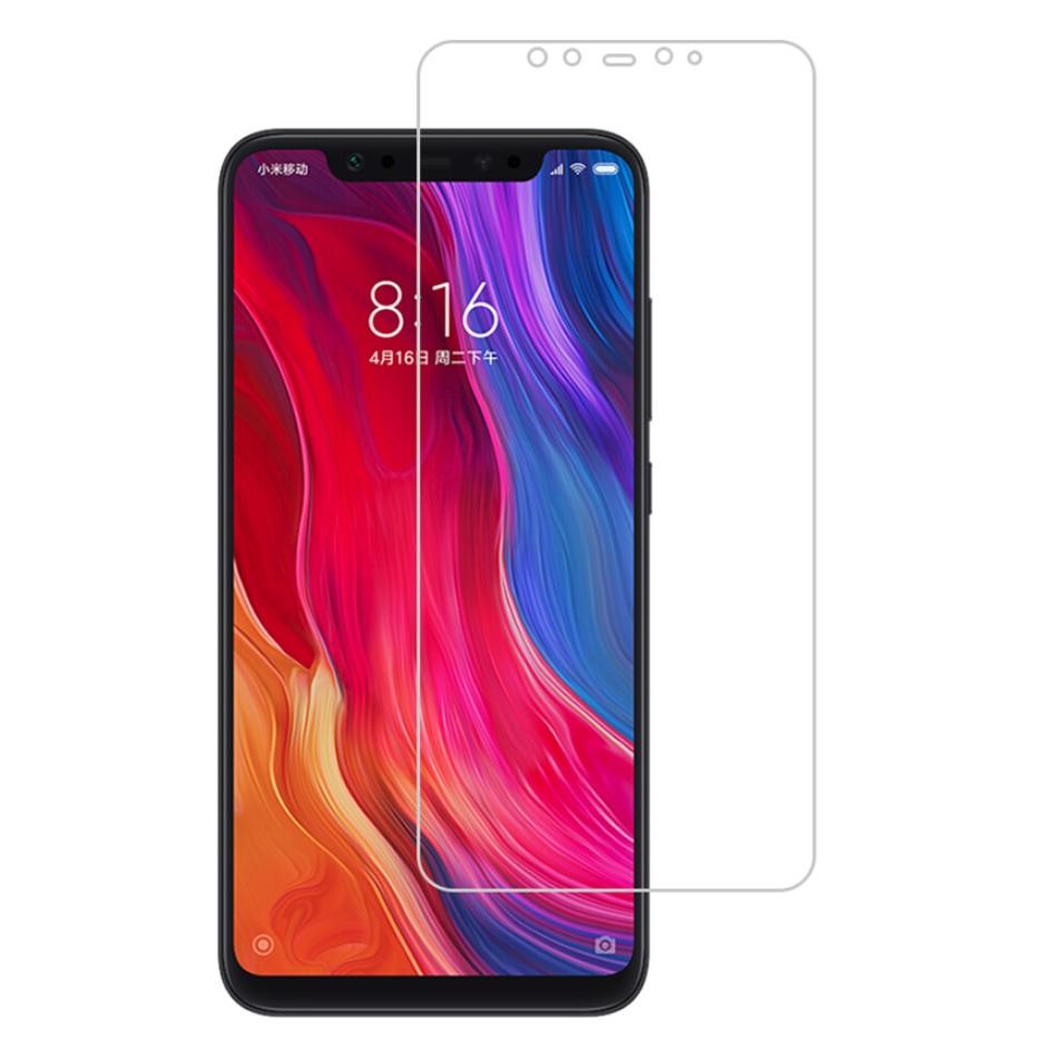 Xiaomi Mi8 ฟิล์มกระจกนิรภัย Glass Pro 9H+ (ไม่เต็มจอ)