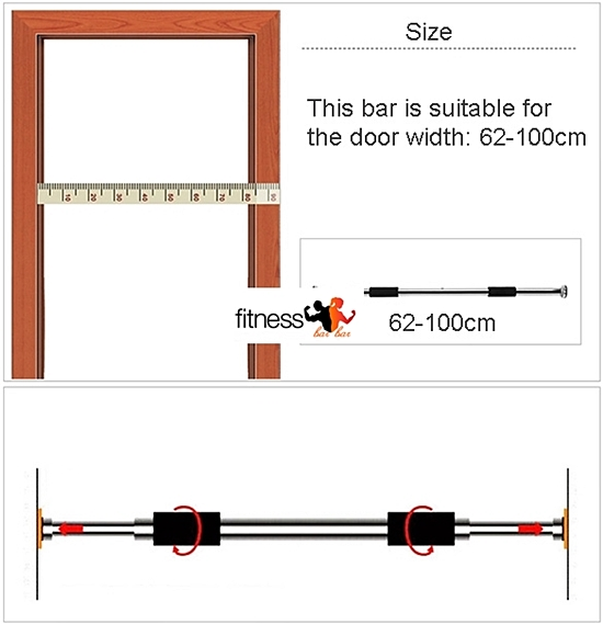 รองรับประตู ขนาด 62-100