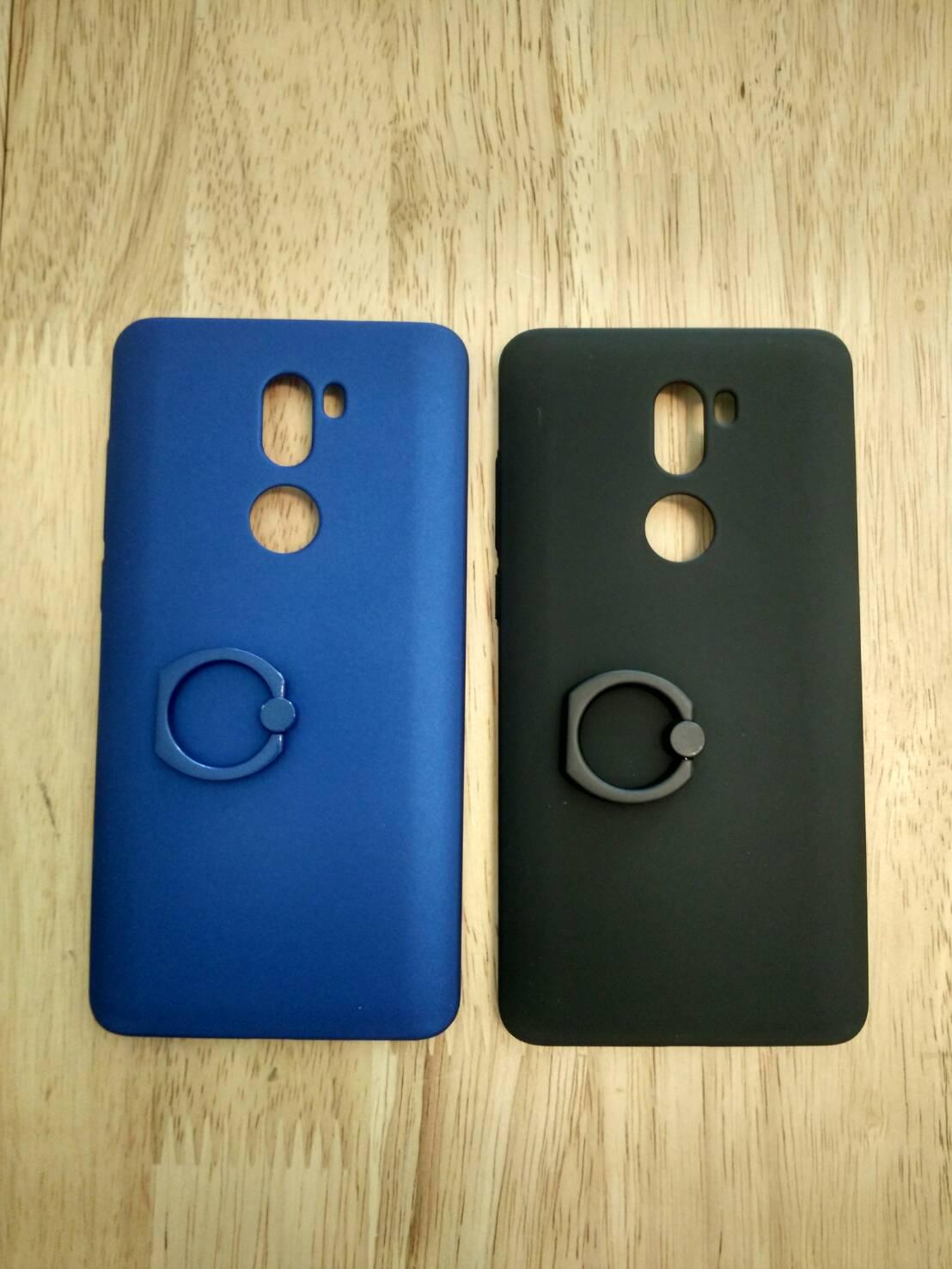 เคส Xiaomi Mi5s Plus PC Frost Shiled Case with Ring สีดำ