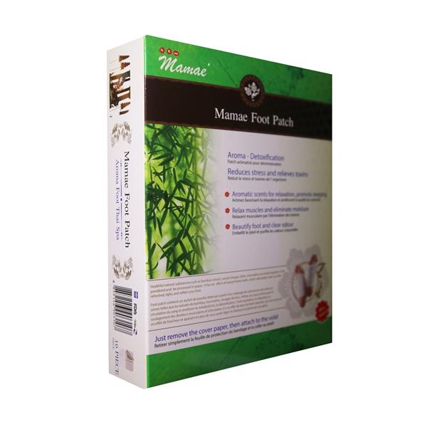 Mamae aroma detox foot patch 5 แถม 1