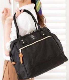 Anello Shoulder Bag กระเป๋าถือ/คล้องไหล่ สี Black