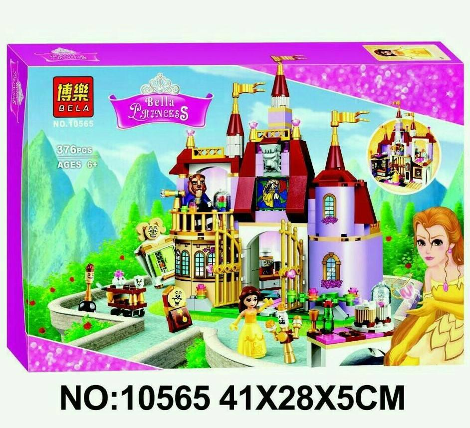 เลโก้จีน BELA 10565 ชุด Belle's Enchanted Castle
