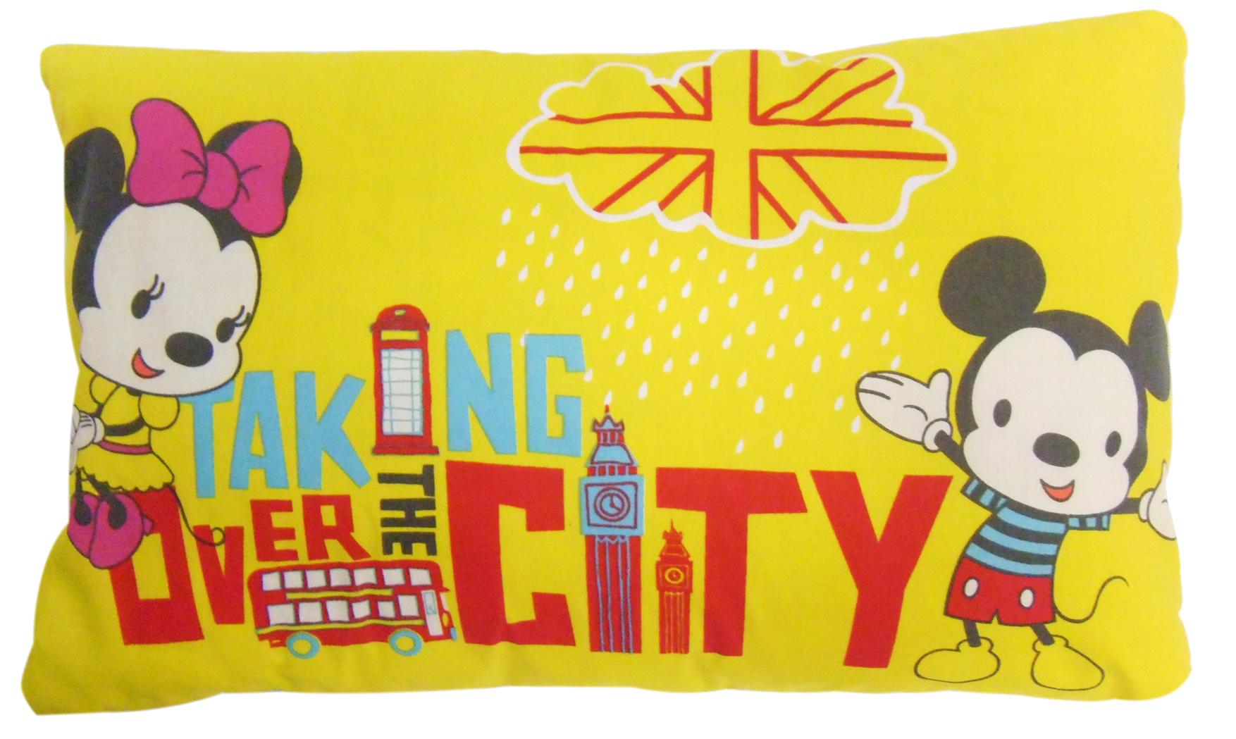 หมอนหนุน Mickey Happy Eclectic ขนาด M