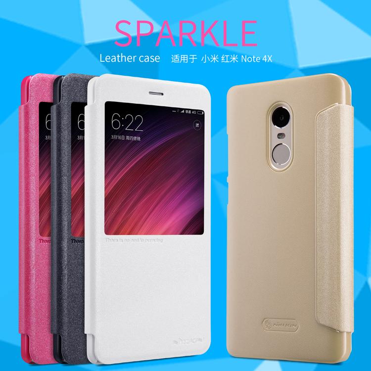 เคส Xiaomi Redmi Note 4X Nillkin Sparkle Leather Case