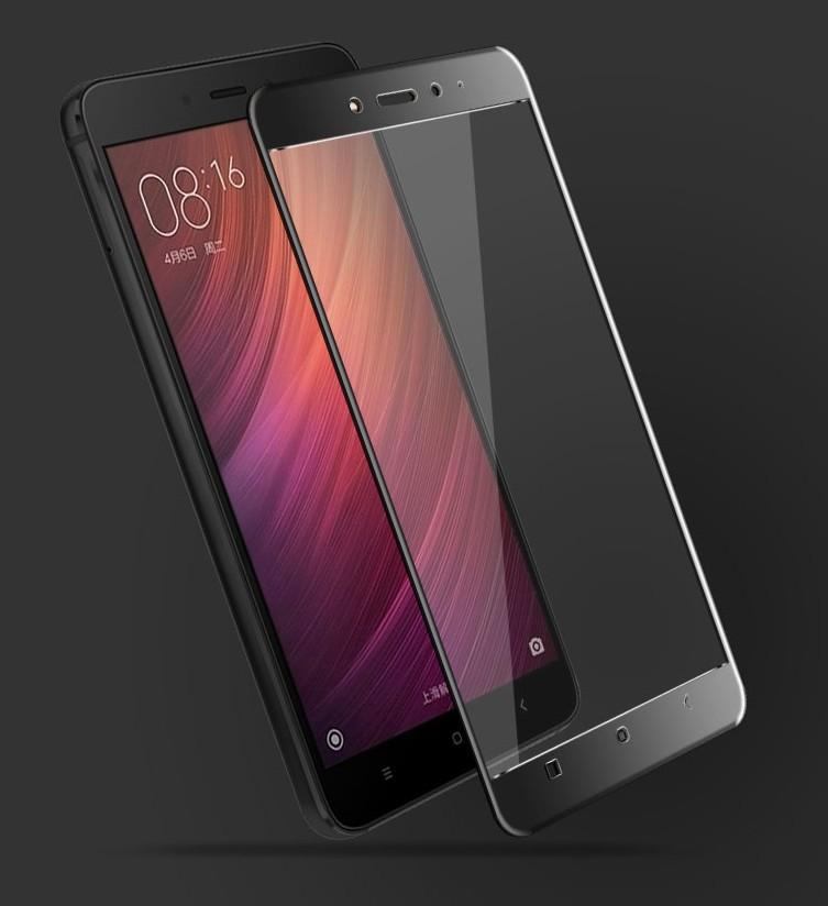 Xiaomi Redmi Note 4 ฟิล์มกระจกนิรภัยเต็มจอ 9H+ บาง 0.33mm (ขอบดำ)