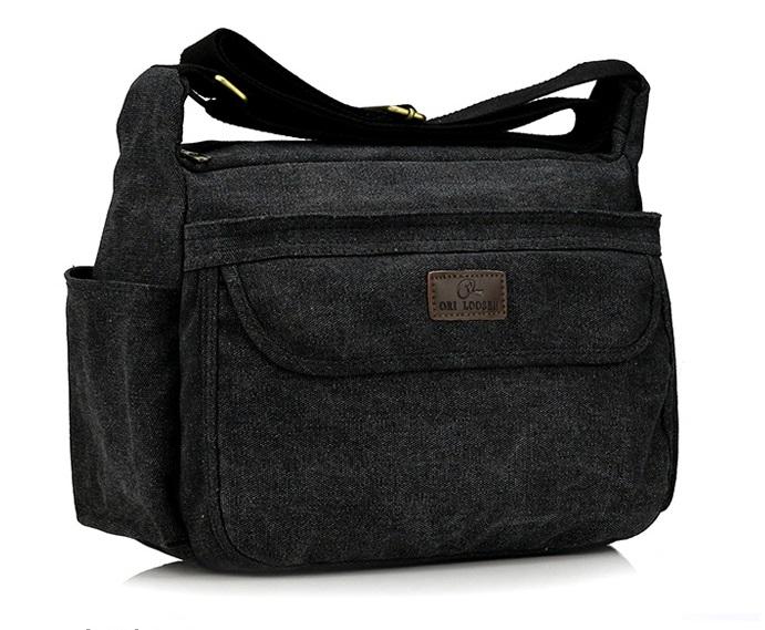 กระเป๋าสะพายข้างผ้าแคนวาส ORI LOOSBN