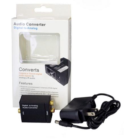กล่องแปลงสัญญาณเสียง Audio Converter Digital to Analog