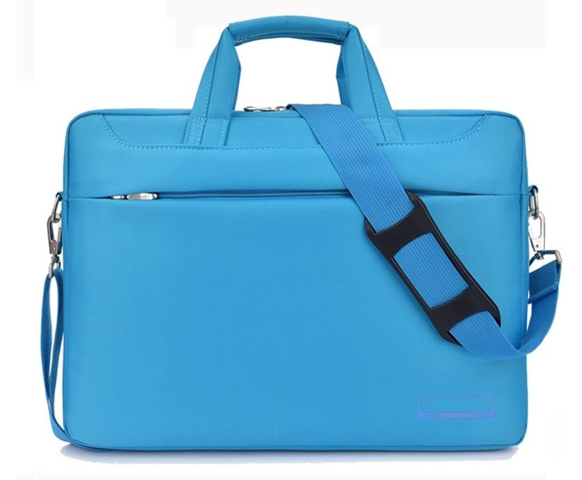 Classic notebook bag double shockproof กันกระแทก 2 ชั้น (สีฟ้า)
