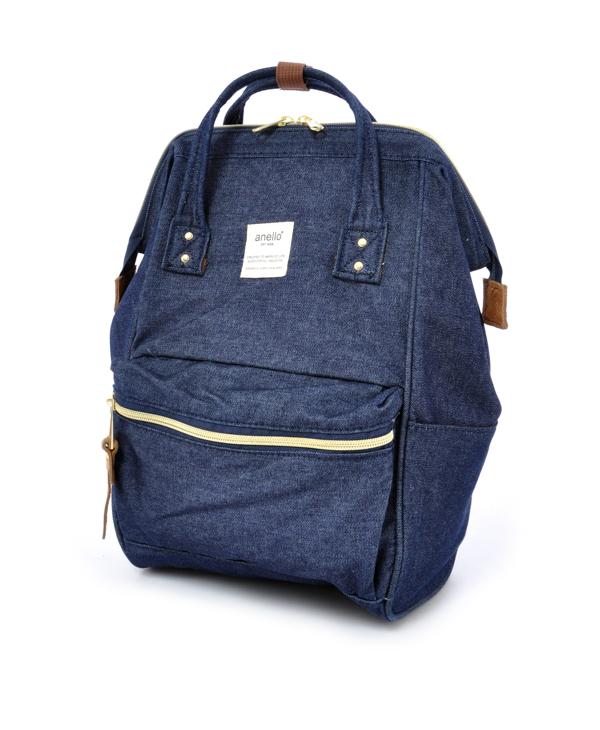 กระเป๋าเป้ Anello Denim Navy (Mini)