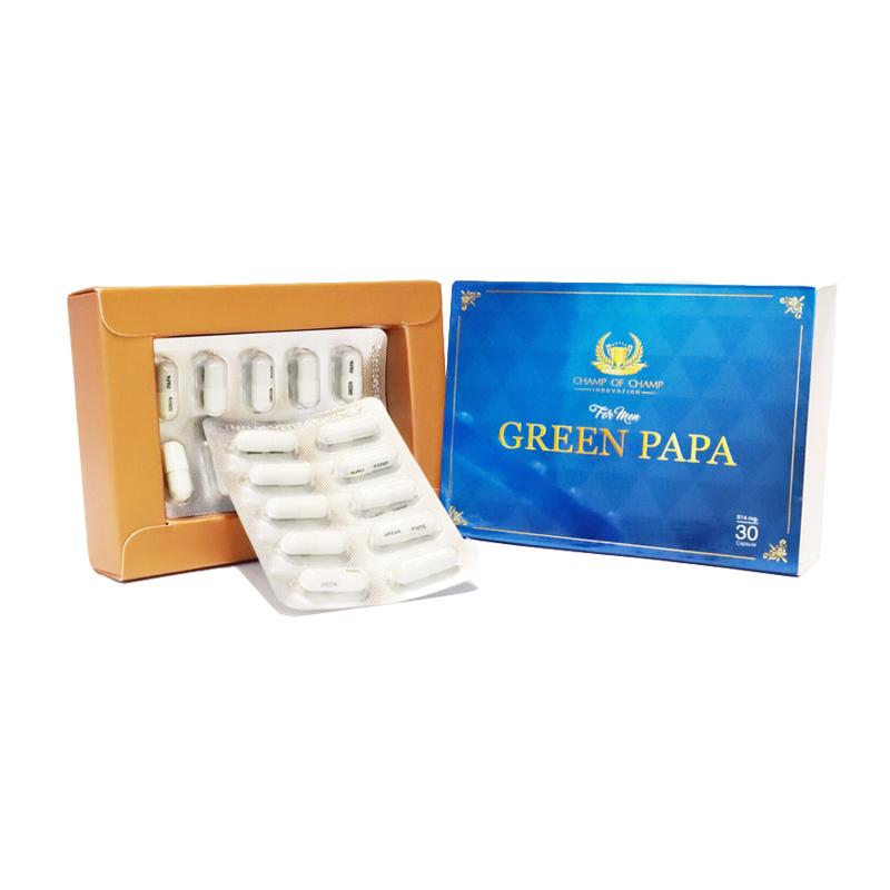 Green papa [กรีนปาป้า]คืนความเป็นชายให้มีสุขภาพแข็งแรง