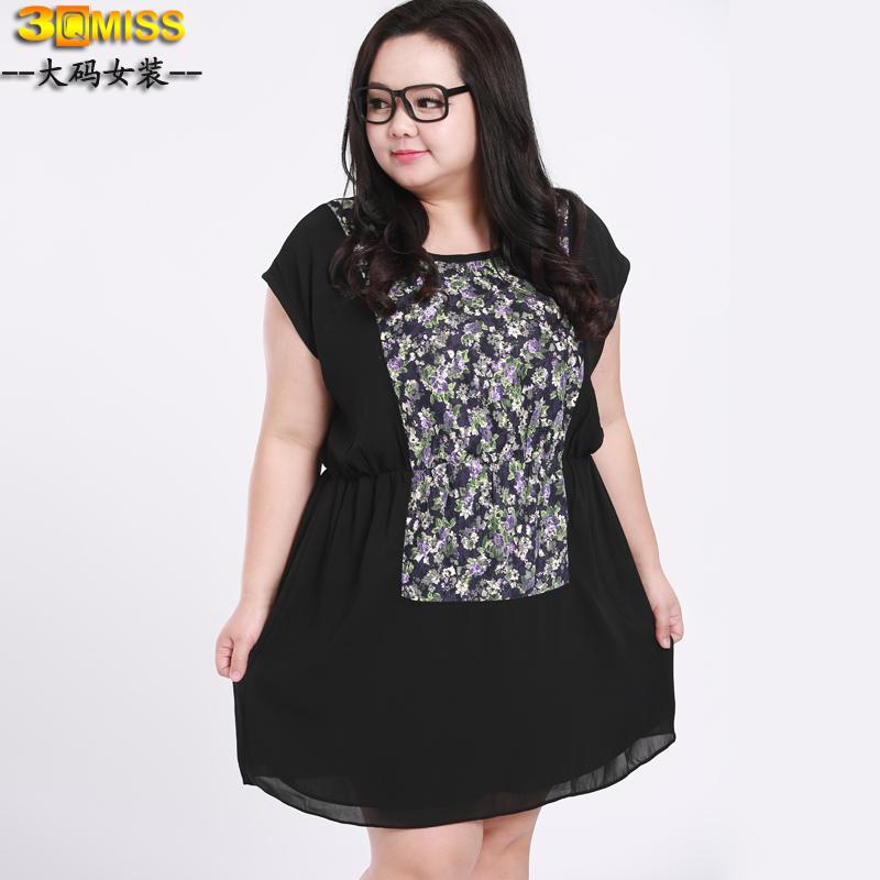 [พรีออเดอร์] เสื้อเดรสแฟชั่นเกาหลี แขนสั้น ไซส์ใหญ่ สำหรับสาวอ้วนวัยทีน สุดชีค - [Preorder] Women Korean Hitz New Short-Sleeved Large Size