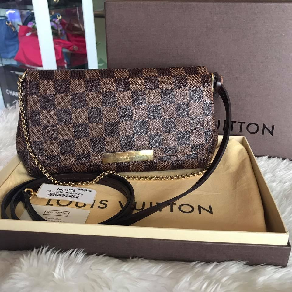 (SOLD OUT)LOUISVUITTON Favorite Pm Damier ปี 16